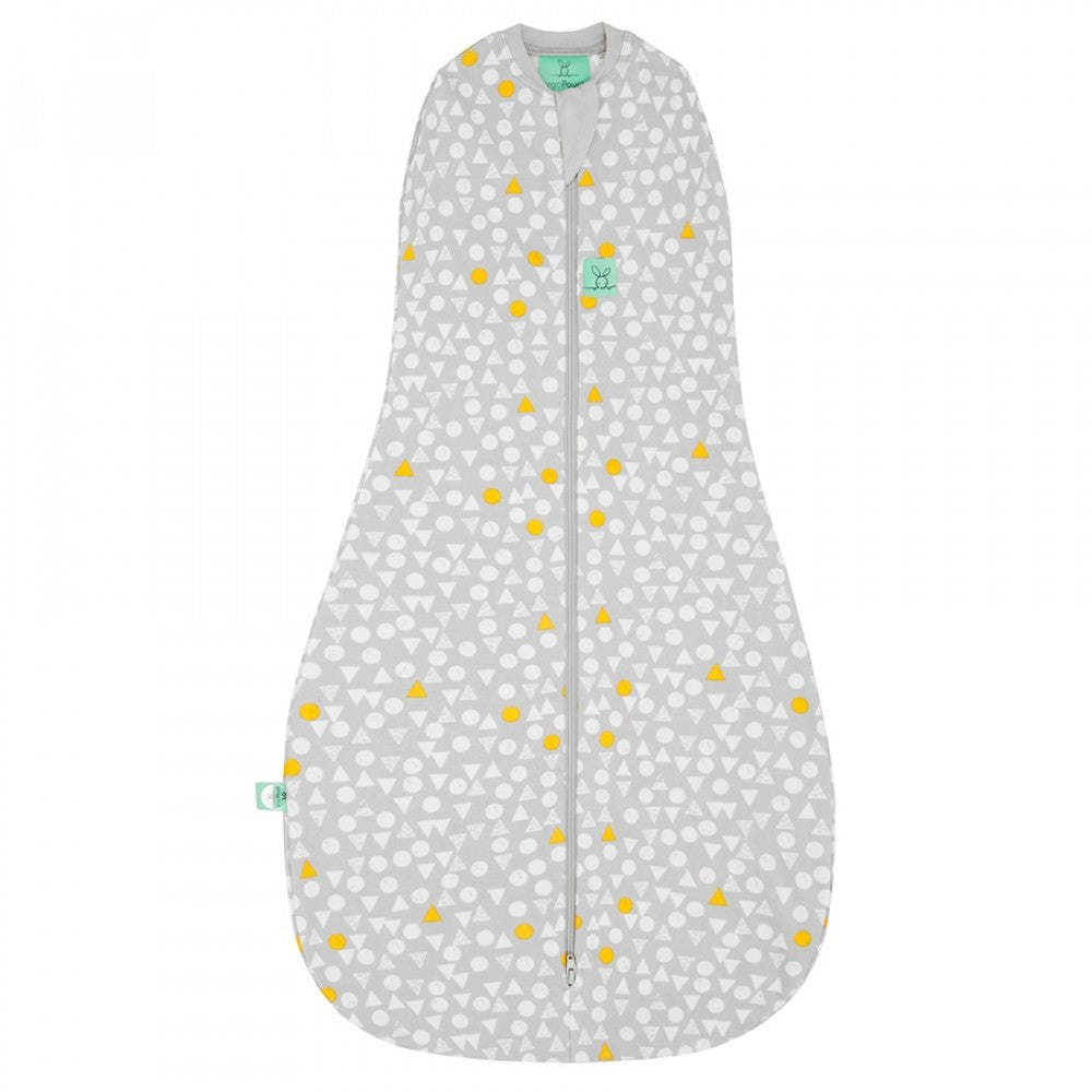 ErgoCocoon Swaddle & Sleep Bag (0.2 tog) - Triangle Pops