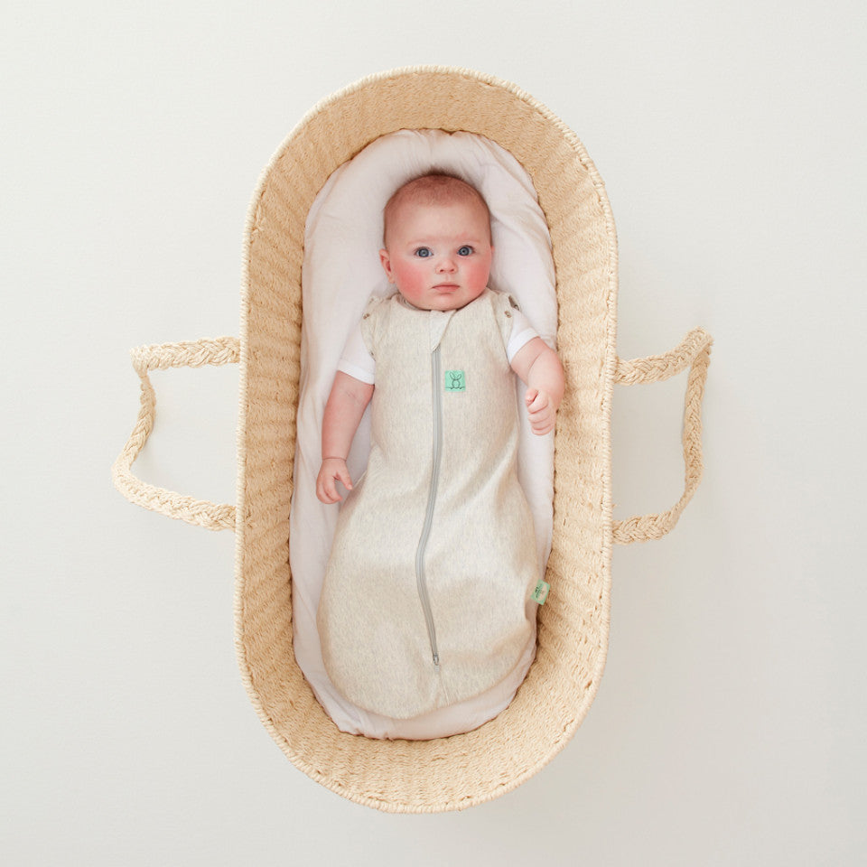 ergopouch ergococoon bamboo swaddle and sleep bag 0.2 tog grey marle