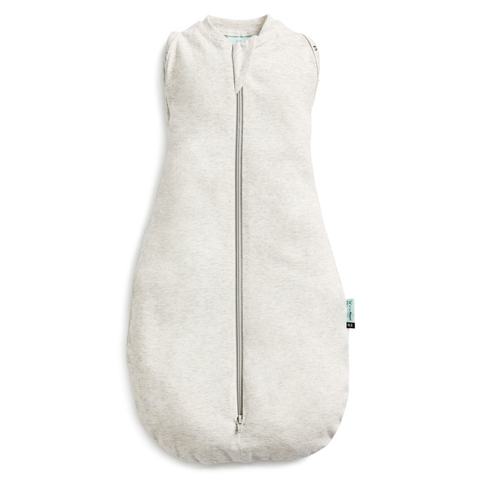 ErgoCocoon Swaddle & Sleep Bag (0.2 tog) - Grey Marle