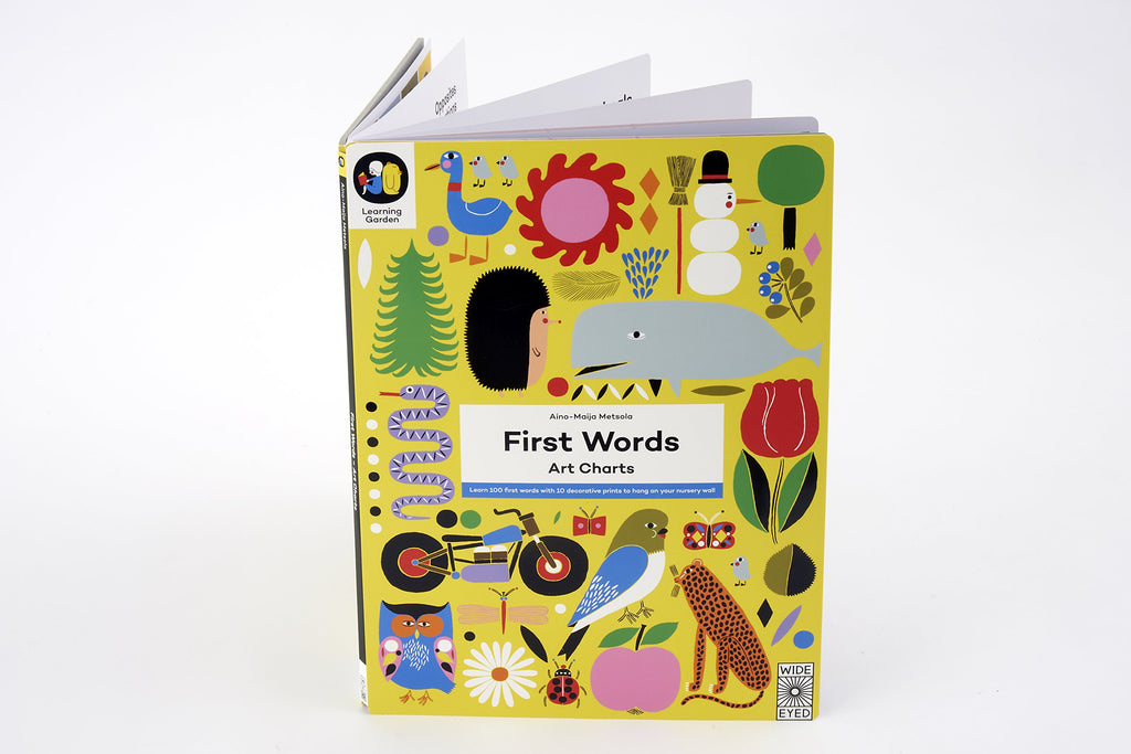 first words art charts aino-maija metsola