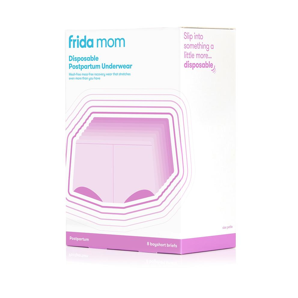 fridamom disposable postpartum underwear boyshorts