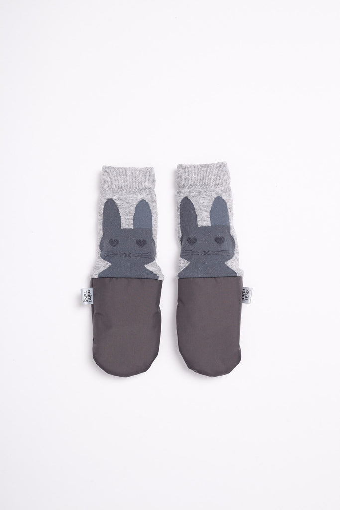 Bunny Mittens with Armwarmers