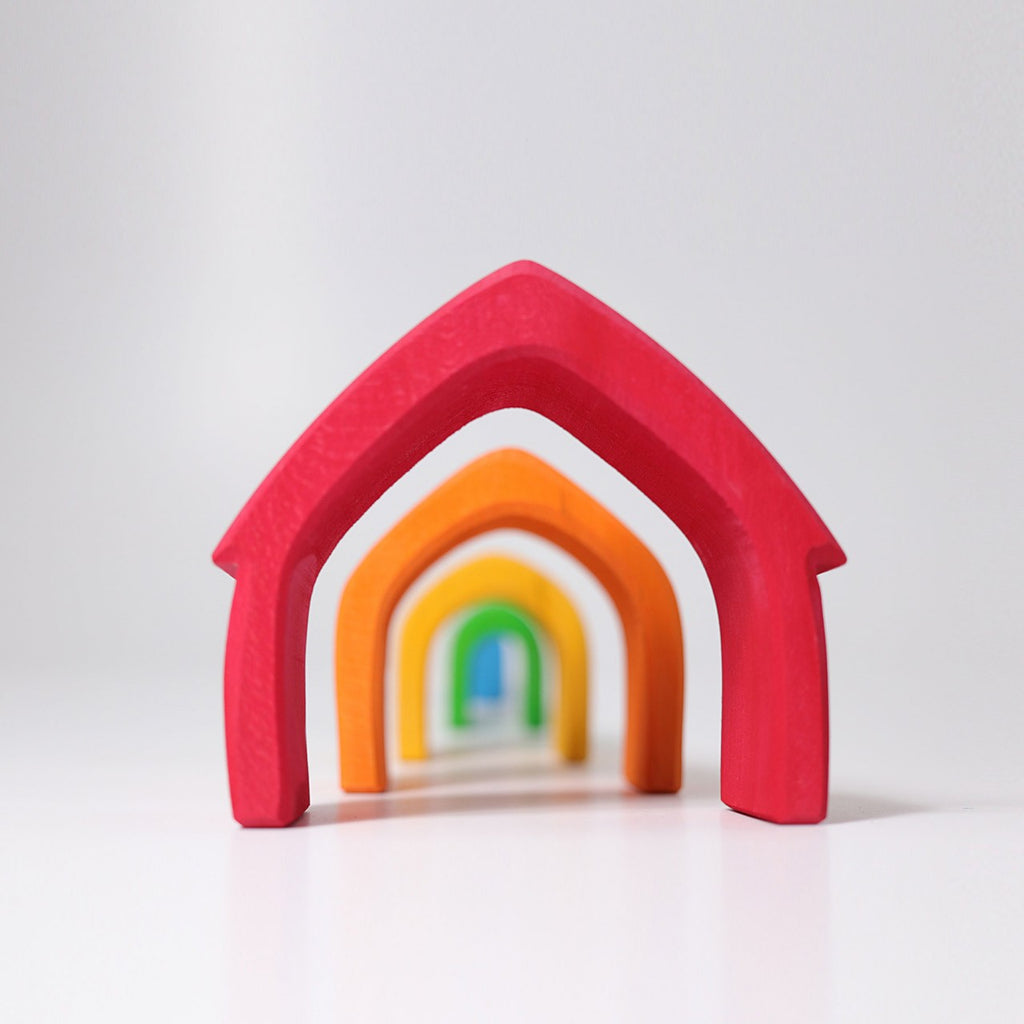 Colourful Stacking Toy House