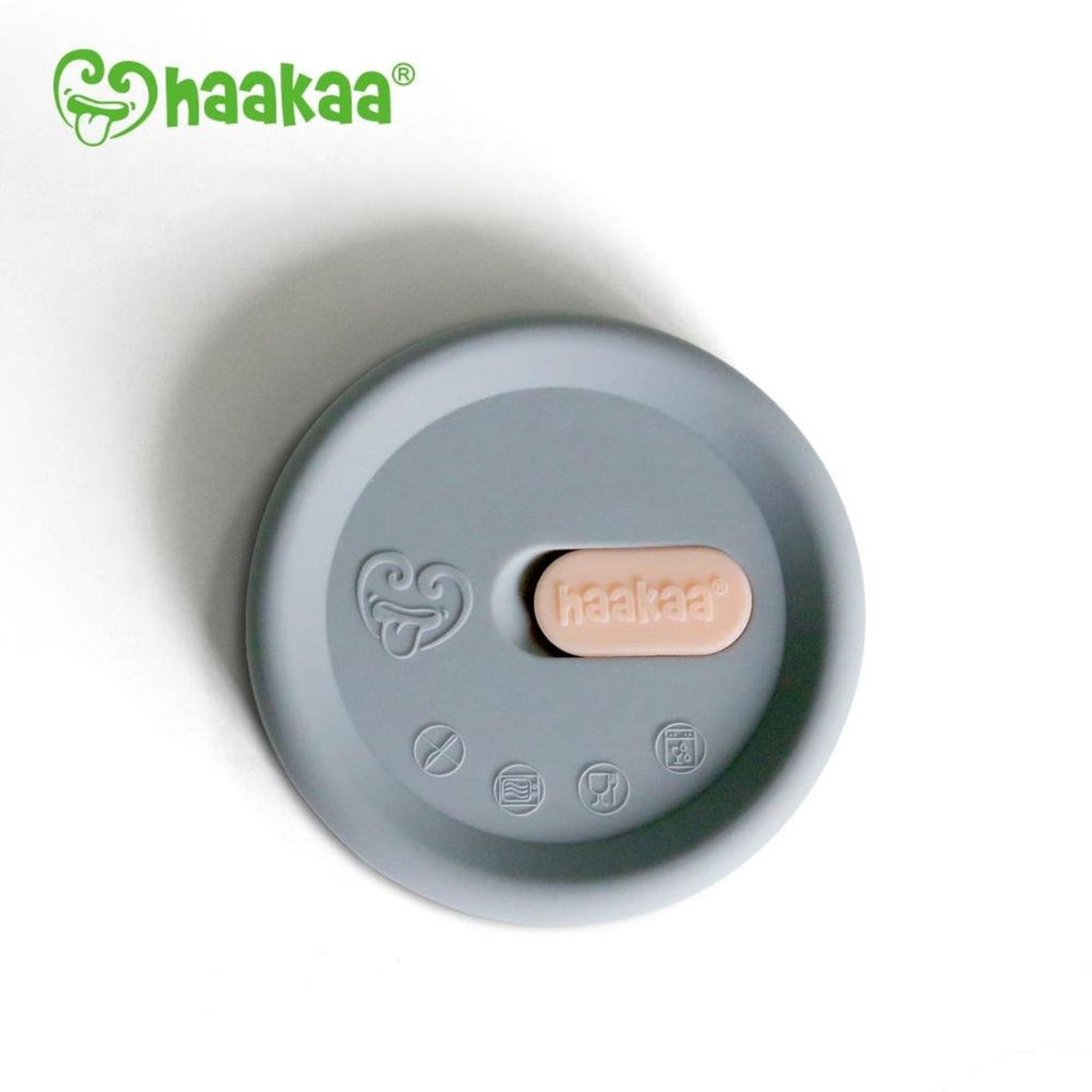 Grey Silicone Lid for Haakaa Pump