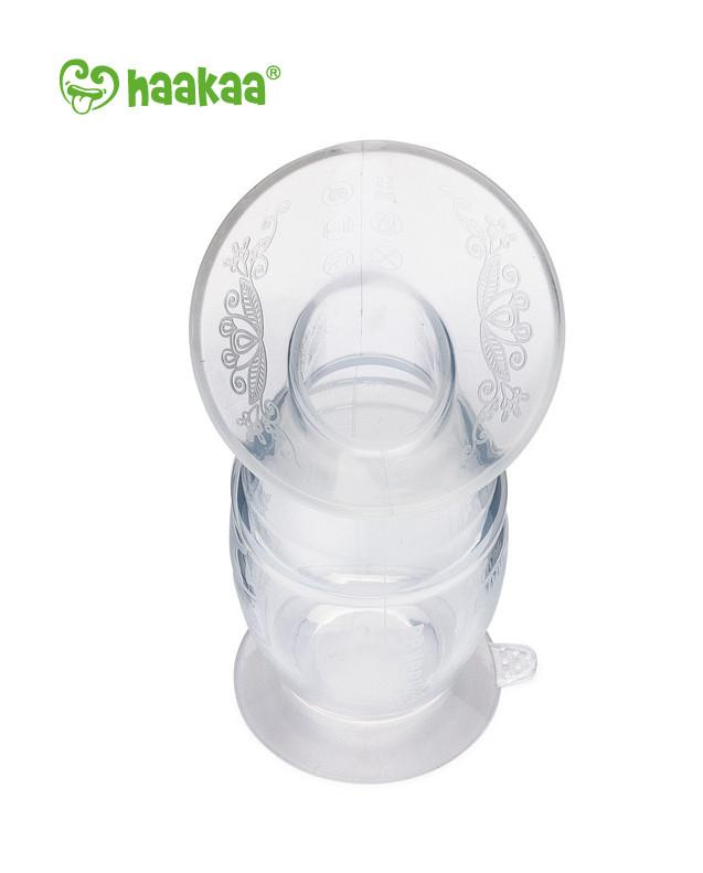 Silicone Breast Pump with Suction Base - 100ml