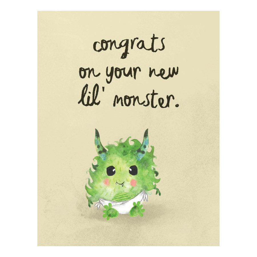 halfpenny cards new lil baby monster card