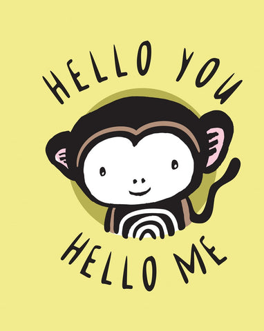 Hello You, Hello Me: A Soft Daytime Book with Mirrors by Surya Sajnani