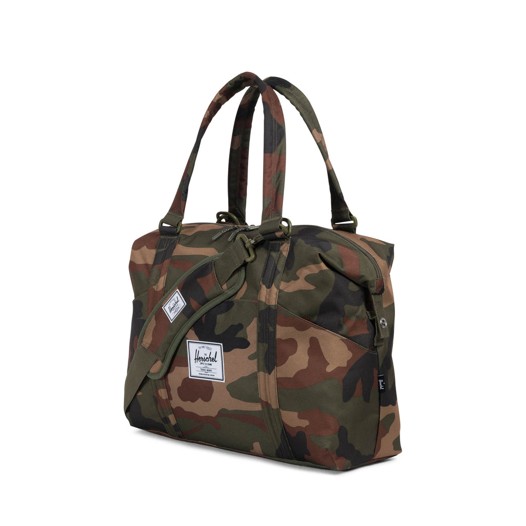 herschel supply strand sprout diaper tote camo