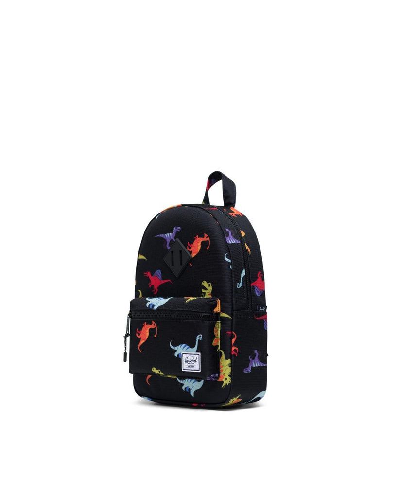 Heritage Kids Backpack - Dinosaurs Black