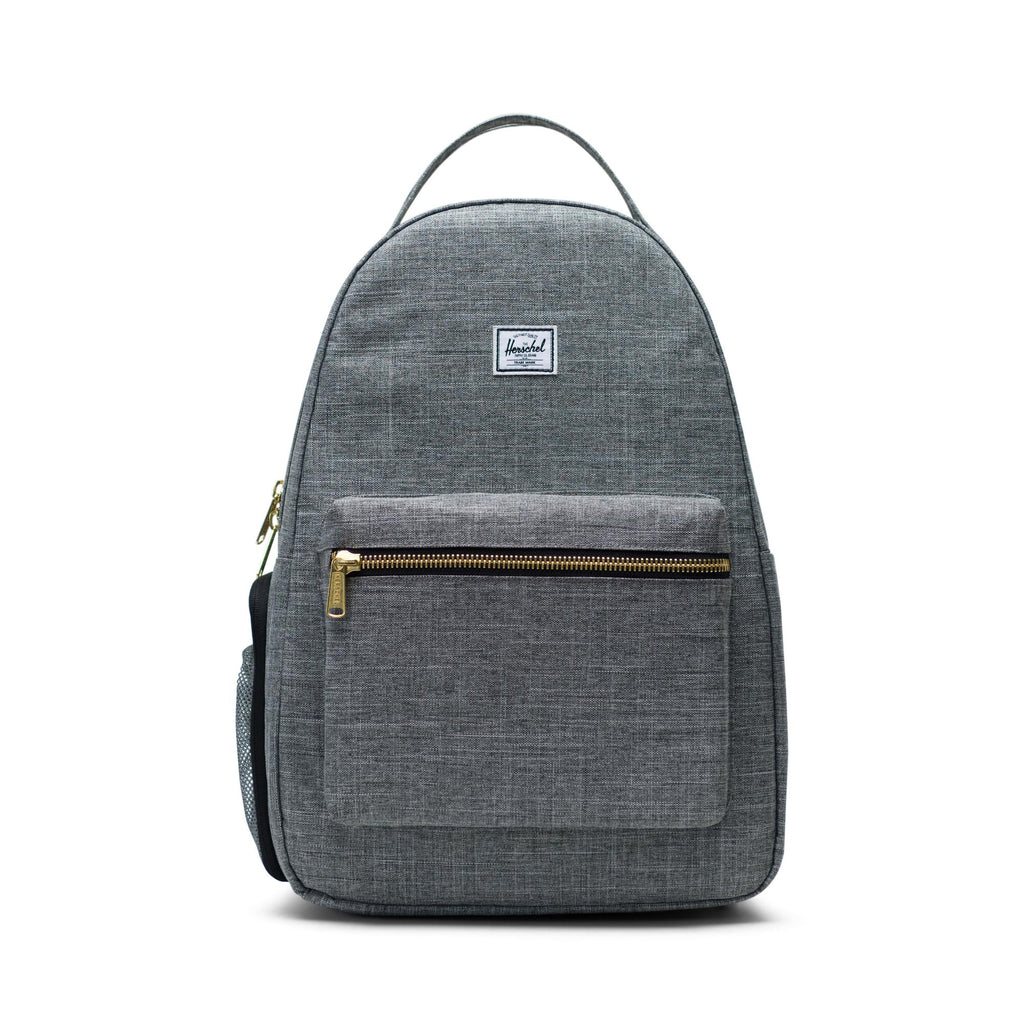 herschel supply co nova sprout diaper backpack raven crosshatch
