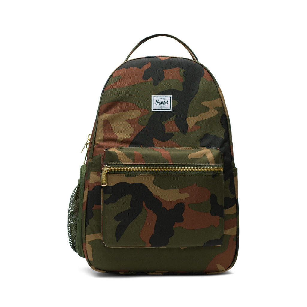herschel supply co nova sprout diaper backpack woodland camo