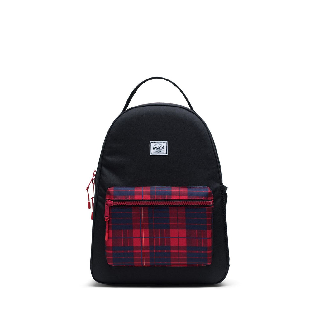 herschel supply co. nova youth backpack black/winter plaid