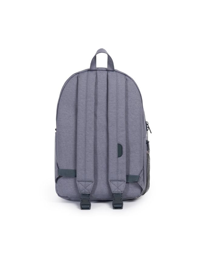 Settlement Sprout Diaper Backpack - Mid Grey Crosshatch