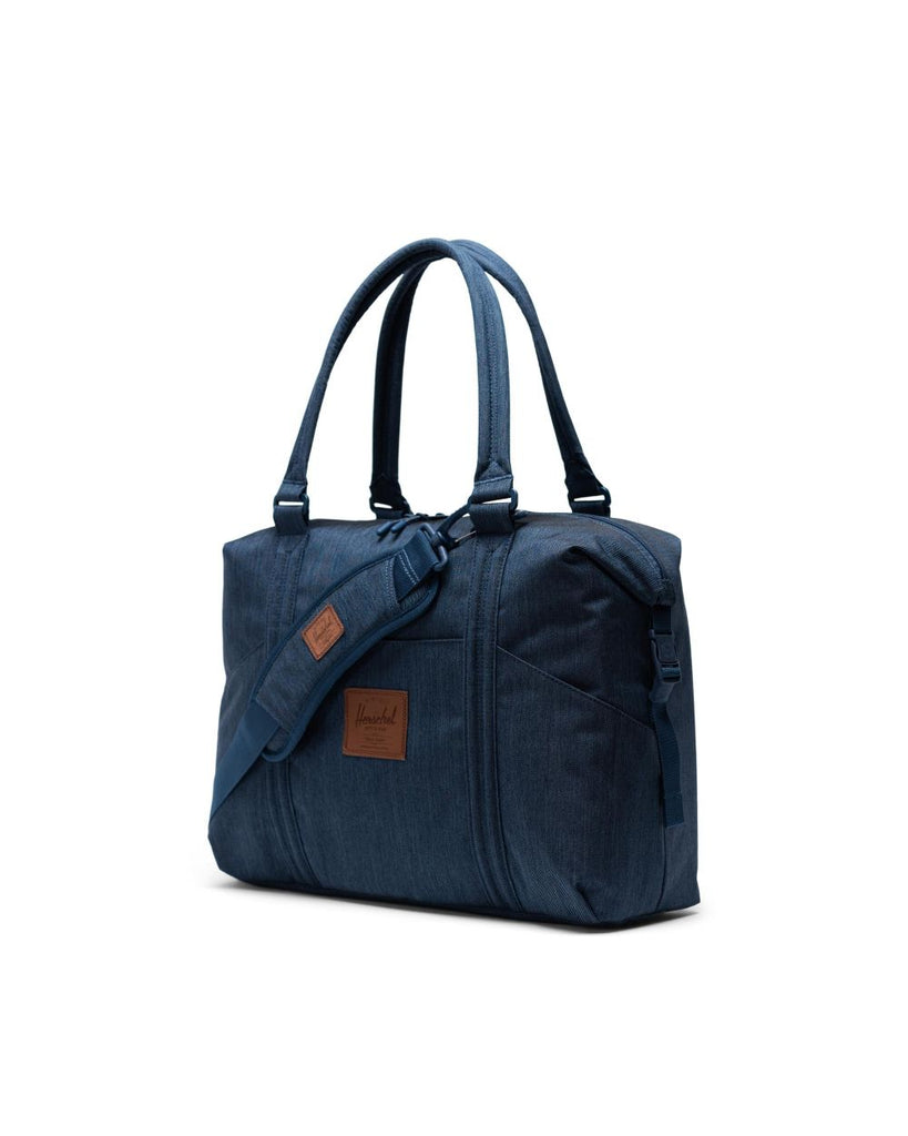 Strand Sprout Diaper Duffle - Indigo Denim Crosshatch