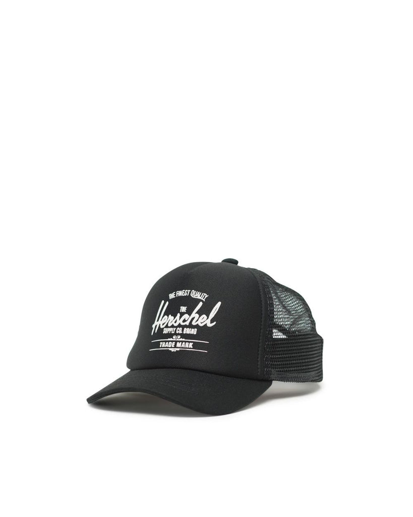 herschel supply co sprout whaler mesh cap black