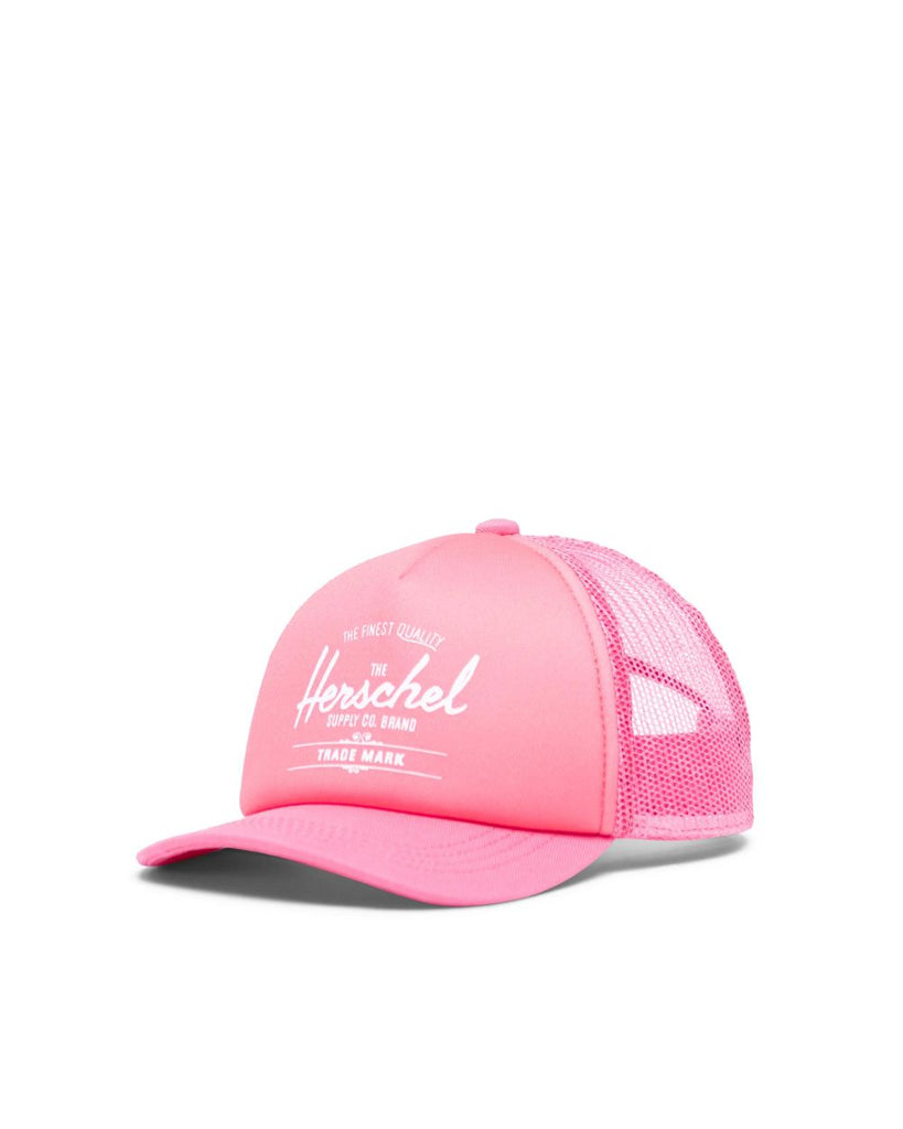 herschel supply co sprout whaler mesh cap flamingo pink