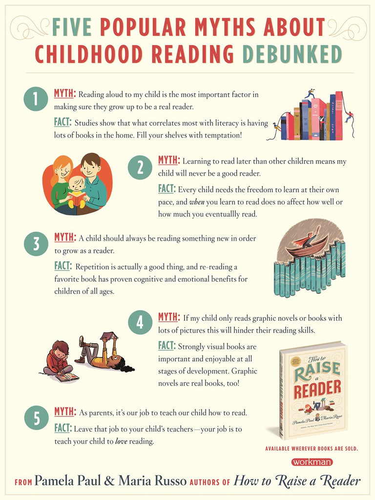 How to Raise a Reader by Pamela Paul and Maria Russo