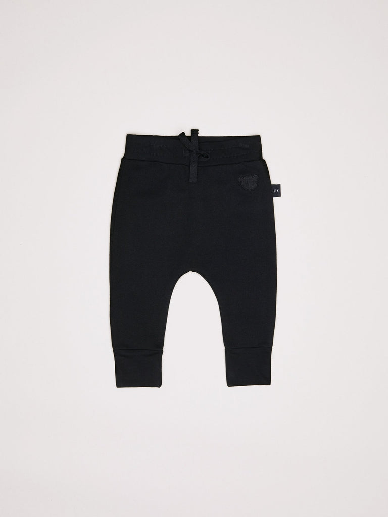 Black Drop Crotch Pant (Size 3-6 mo Only)