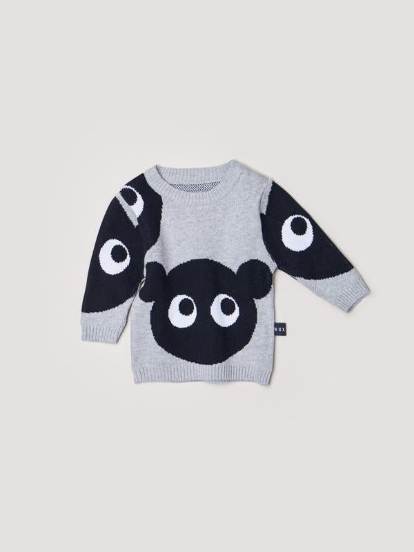 Shadow Bear Knit Sweater