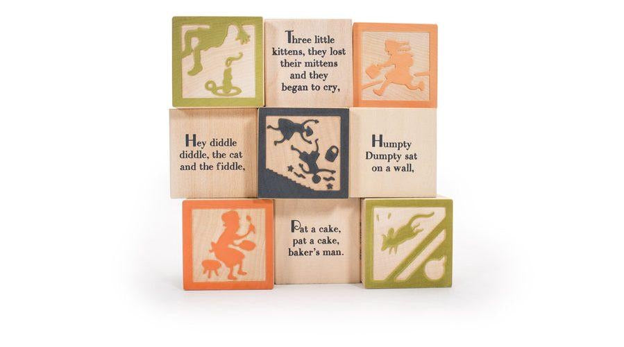 Nursery Rhymes 9 Block Set