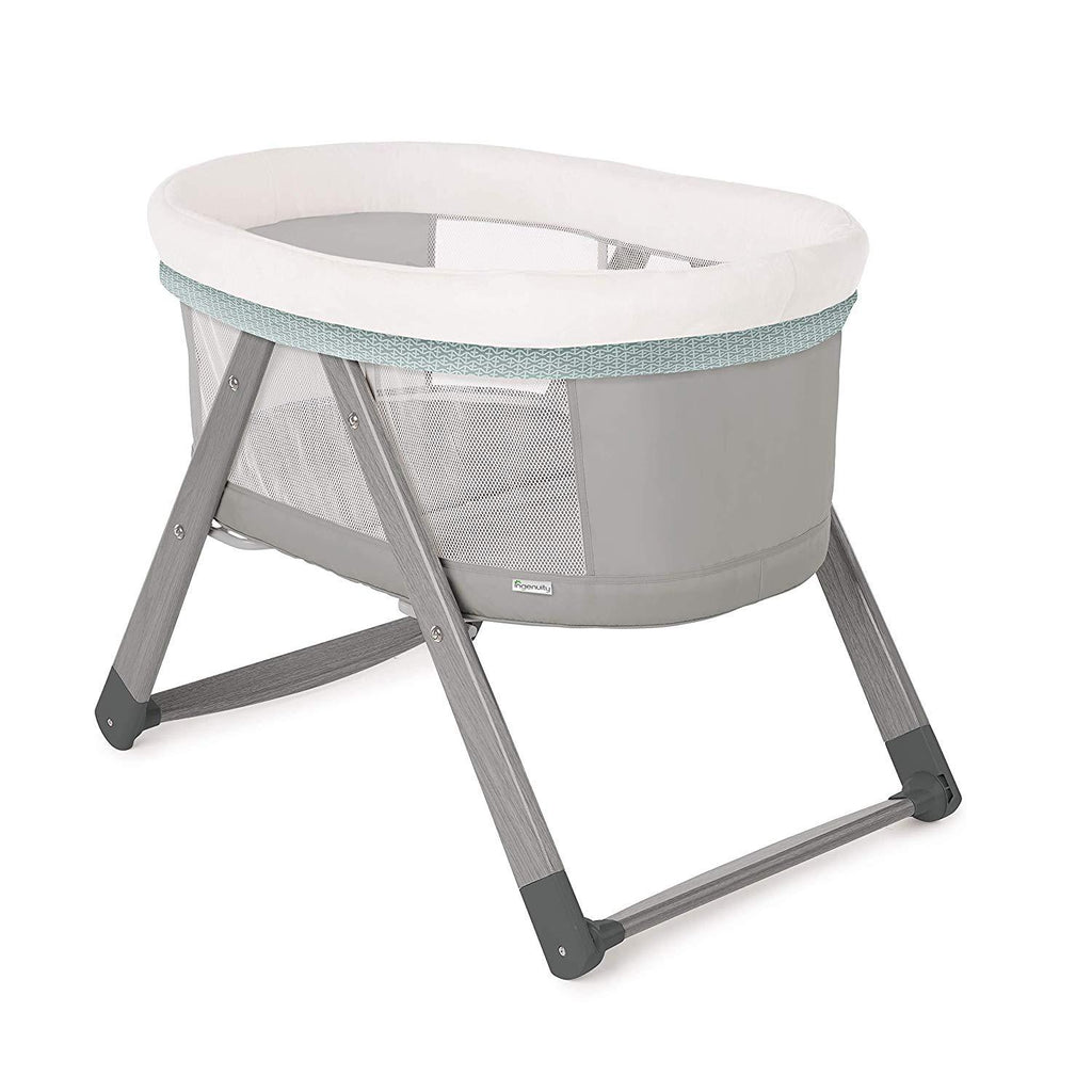 ingenuity foldaway wood rocking bassinet wallace