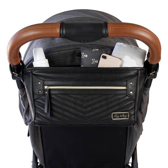 Jetsetter Black Travel Stroller Caddy