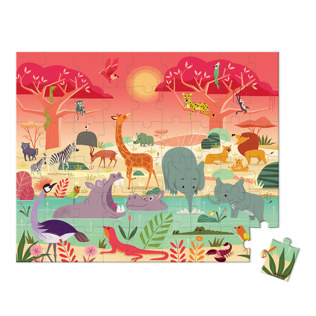 Animal Reserve Puzzle (54pc)