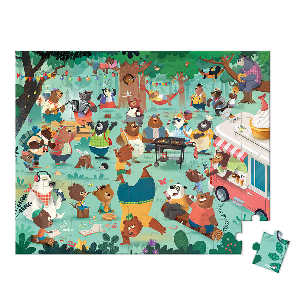 Family Bears Puzzle (54pc)