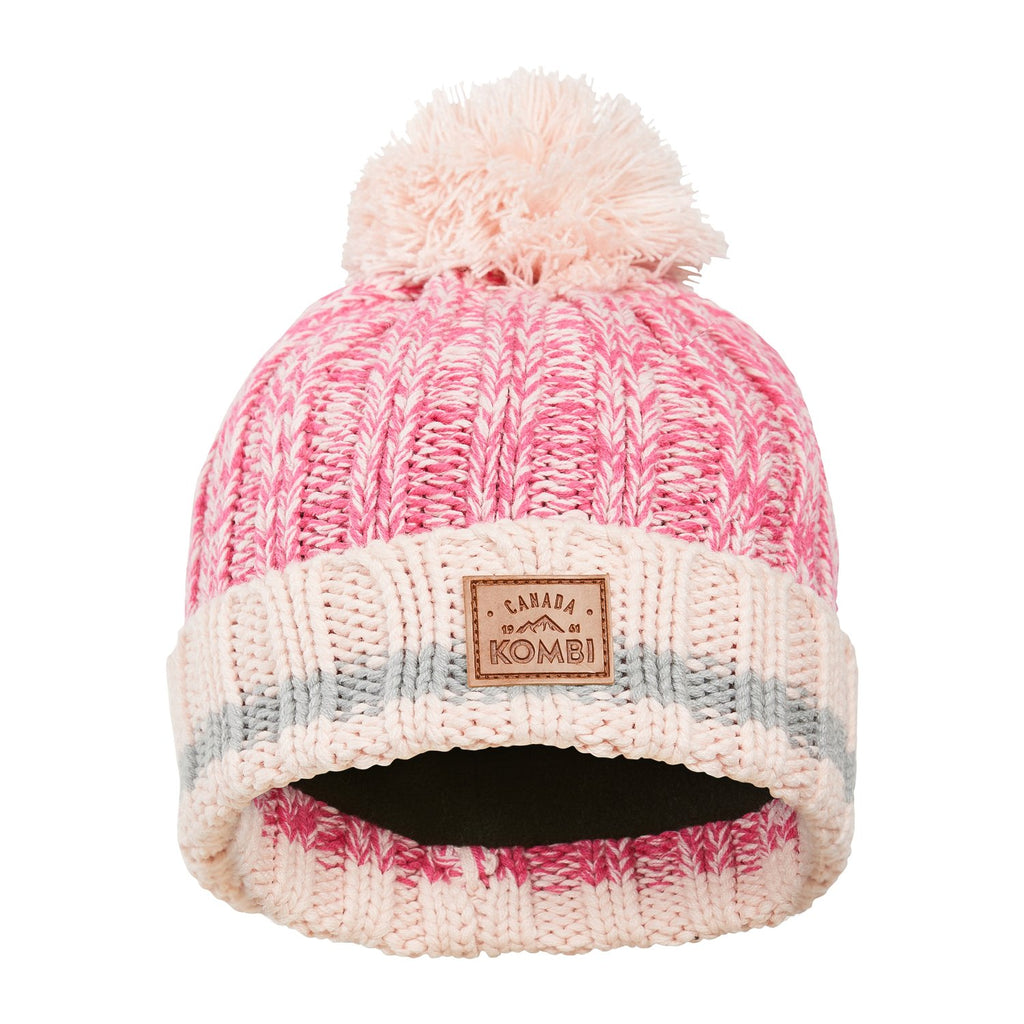The Camp Knit Toque - Glass Pink