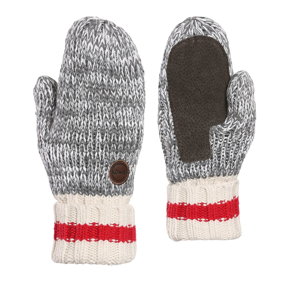 kombi camp unisex adult mitt grey