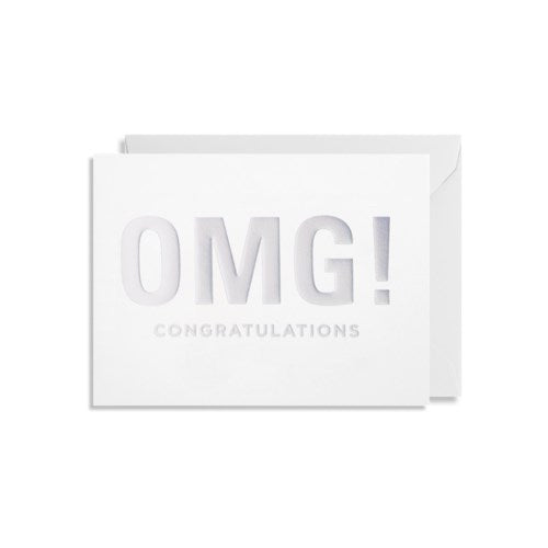 lagom design omg congratulations mini card