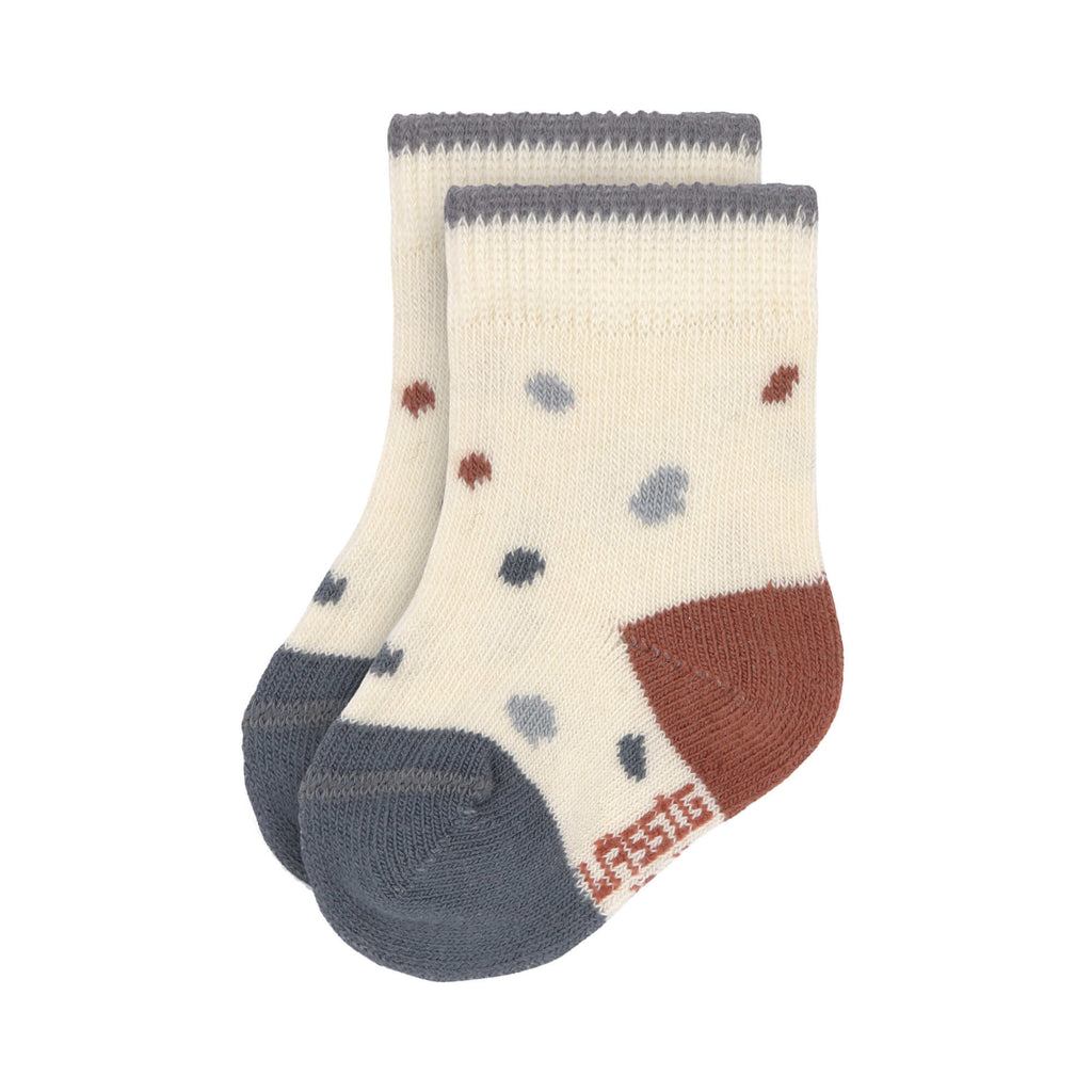 Organic Cotton Baby Toddler Socks (3 pairs) - Tiny Farmer Blue