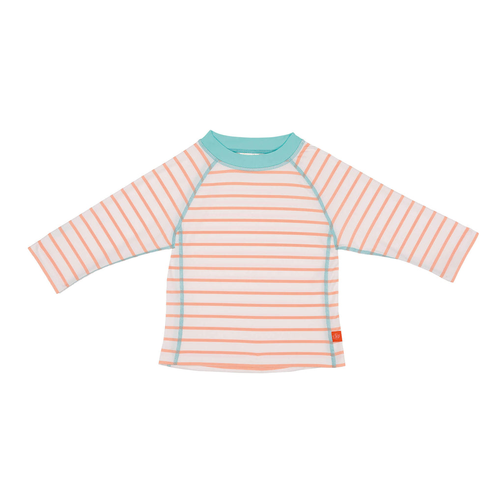 Long Sleeve Rashguard - Sailor Peach