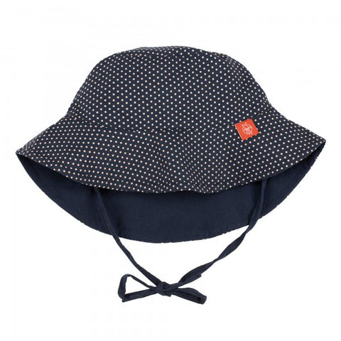 Lassig Sun Protection Bucket Hat (Reversible) - Navy Polka Dots – Love Me  Do Baby   Maternity 2652f3f884d