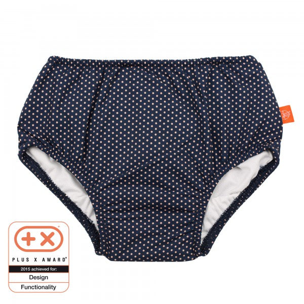 Swim Diaper - Navy Polka Dots