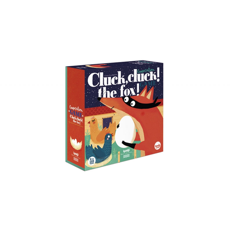 Cluck, Cluck! The Fox! - Co-operation Game