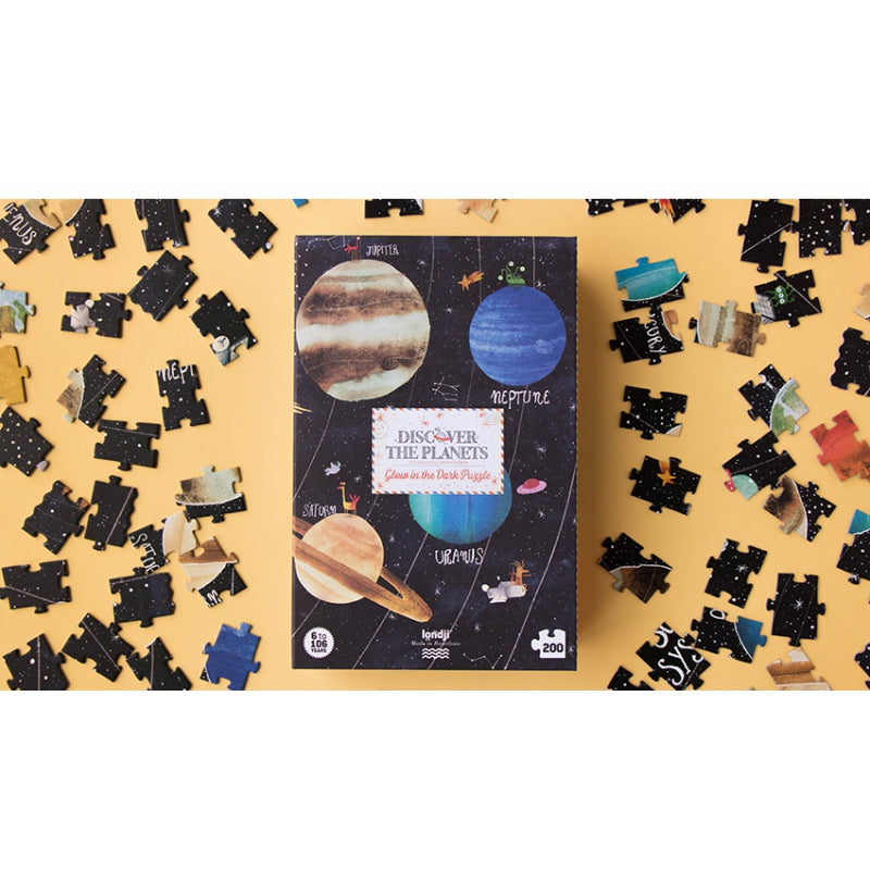 Discover the Planets Puzzle (200 pcs)