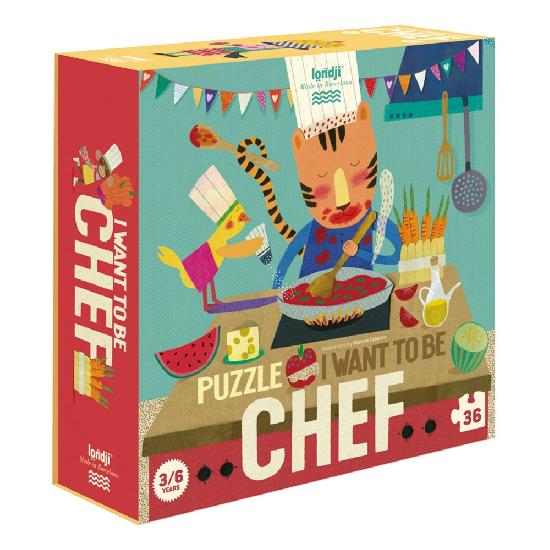 londji i want to be chef puzzle box front