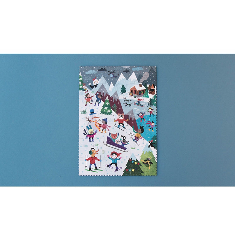 Let's Go to the Mountain - Reversible Puzzle (36 pcs)