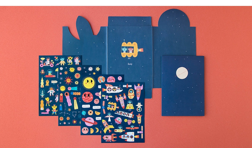 Space Stickers (150 pcs)