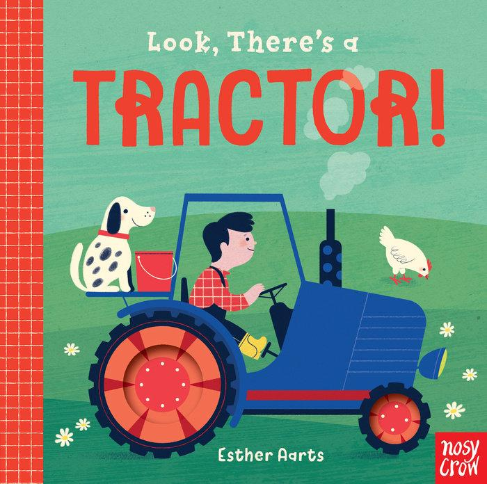look! there's a tractor by esther aarts