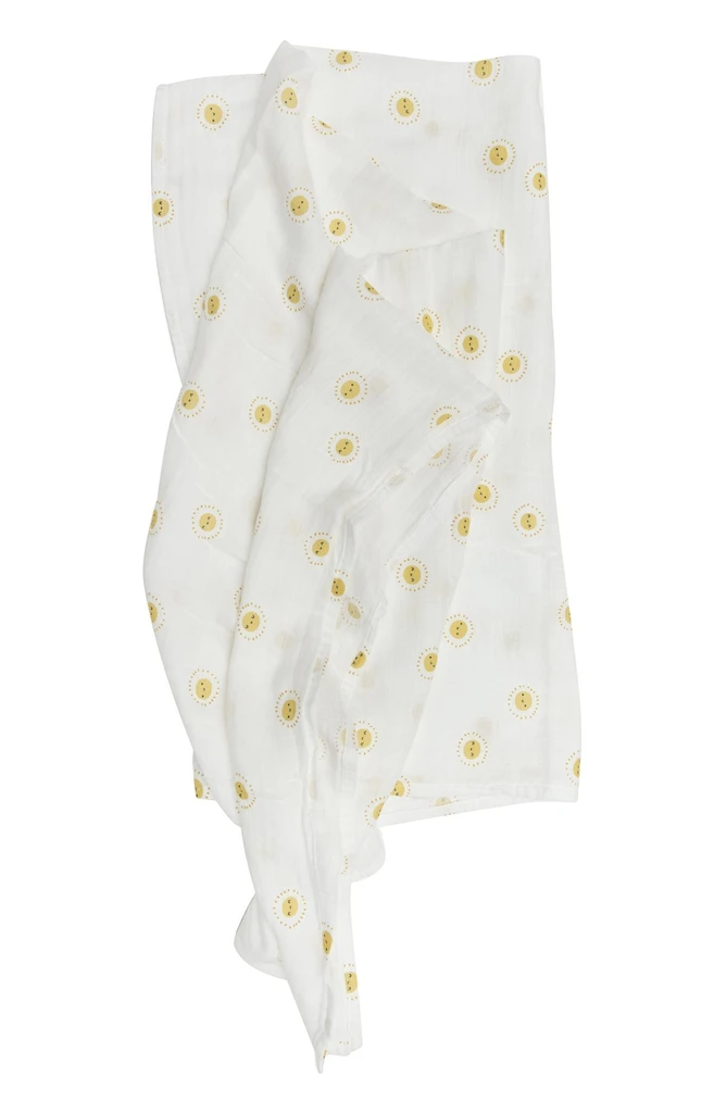 loulou lollipop luxe muslin swaddle rise and shine