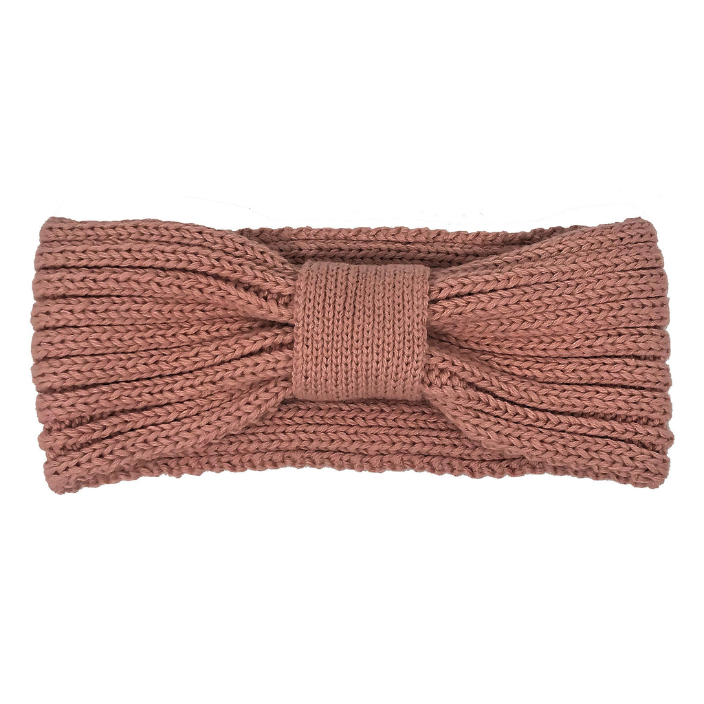 Knit Headband - Old Pink Vintage