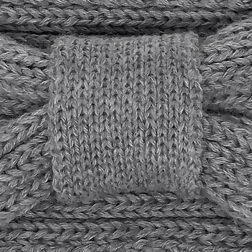 Knit Headband - Vintage Mouse Grey