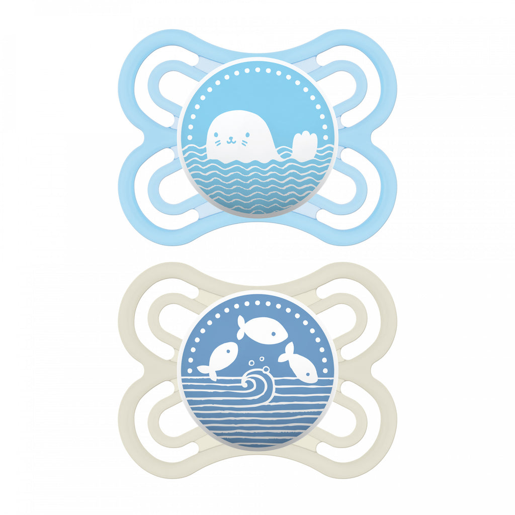 PERFECT Silicone Pacifiers 0-6 months (2pk)