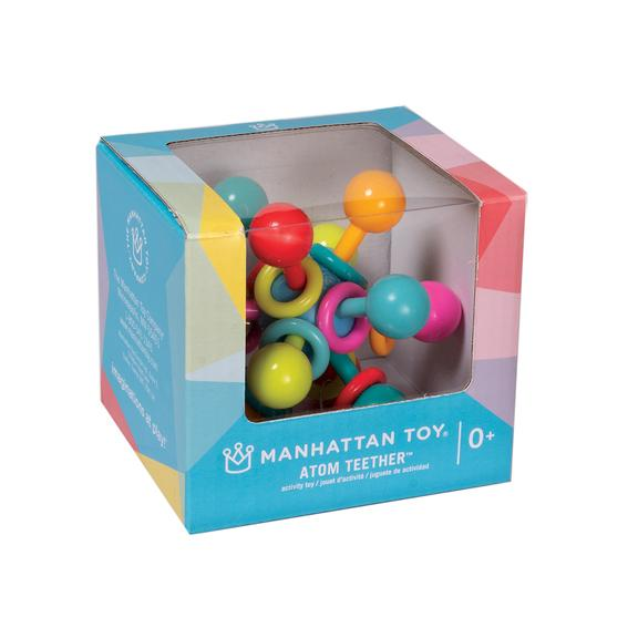 manhattan toy atom teether boxed