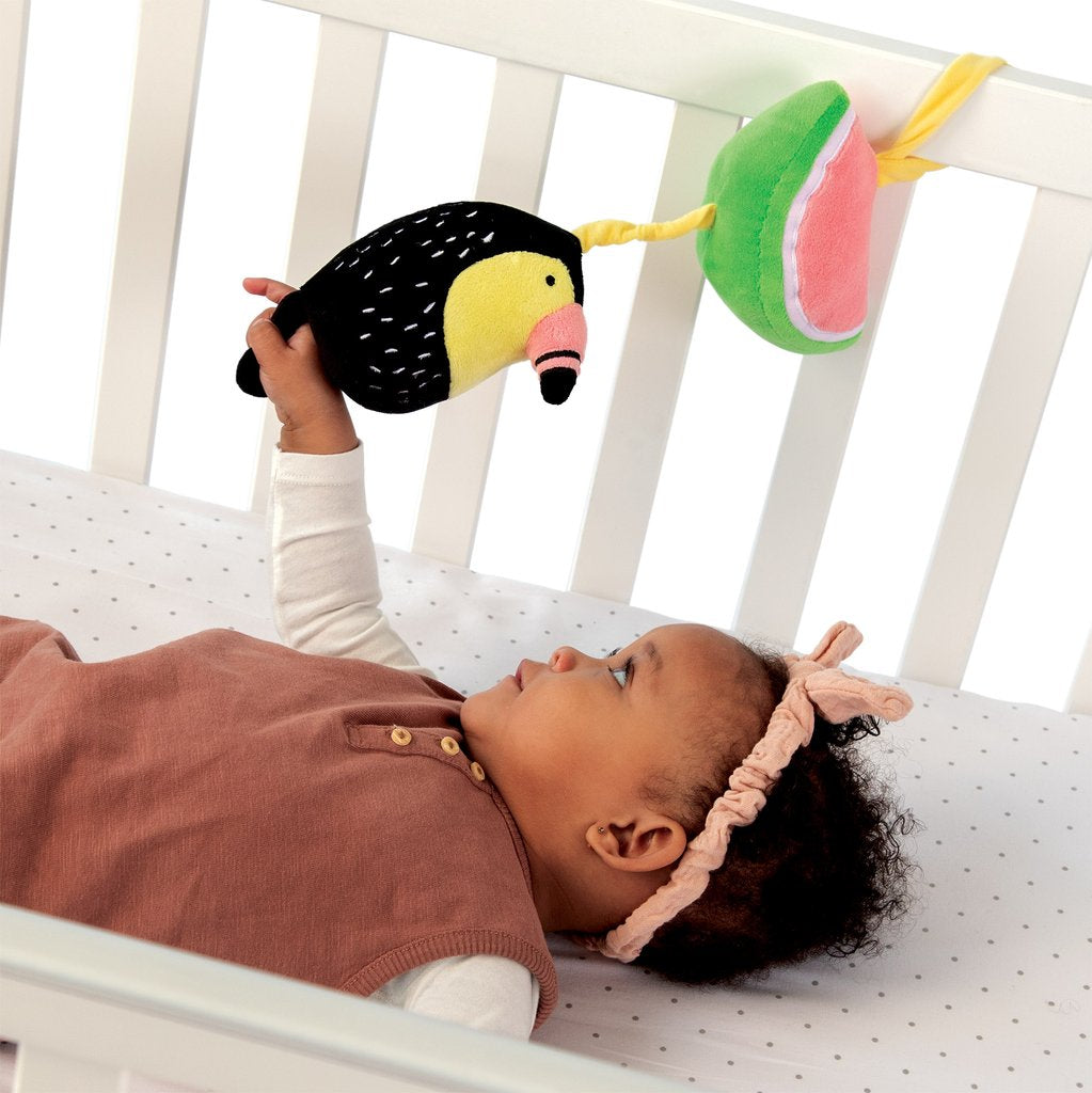 manhattan toy pull musical toucan crib baby