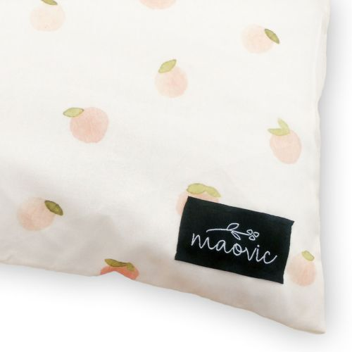 maovic buckwheat toddler pillow peaches