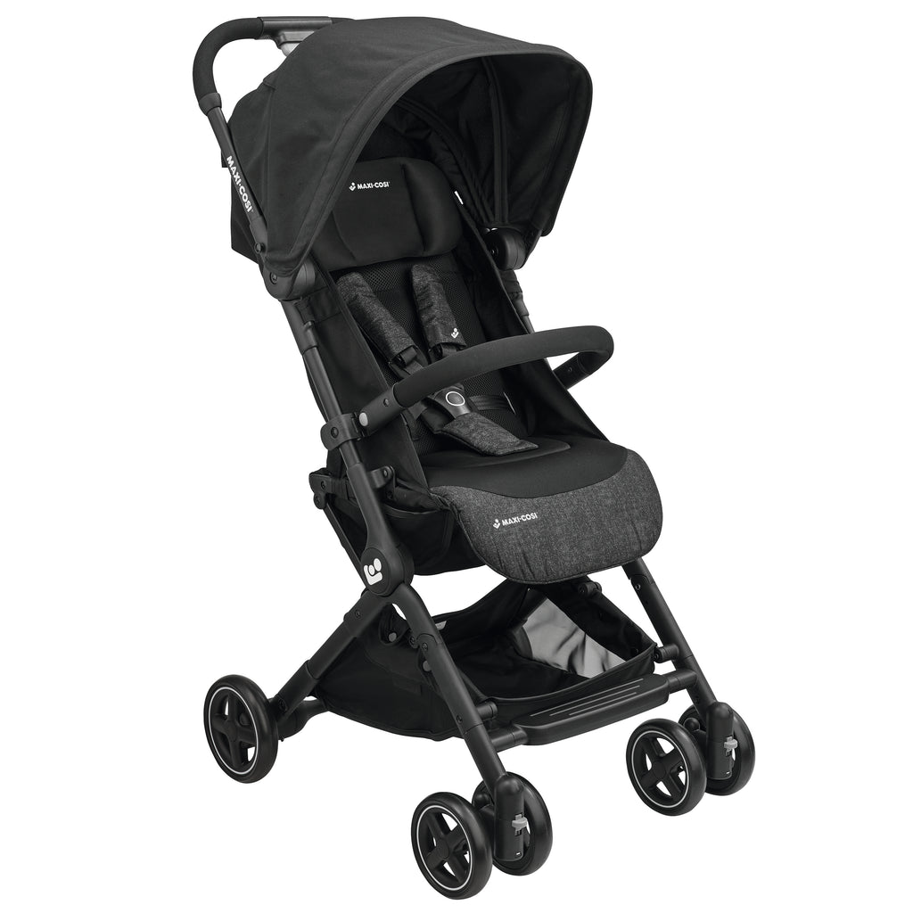 maxi-cosi lara rs ultracompact travel stroller nomad black