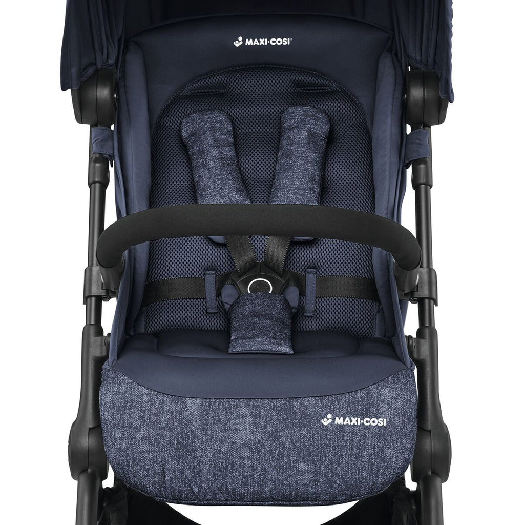 maxi-cosi lara rs ultracompact travel stroller seat harness